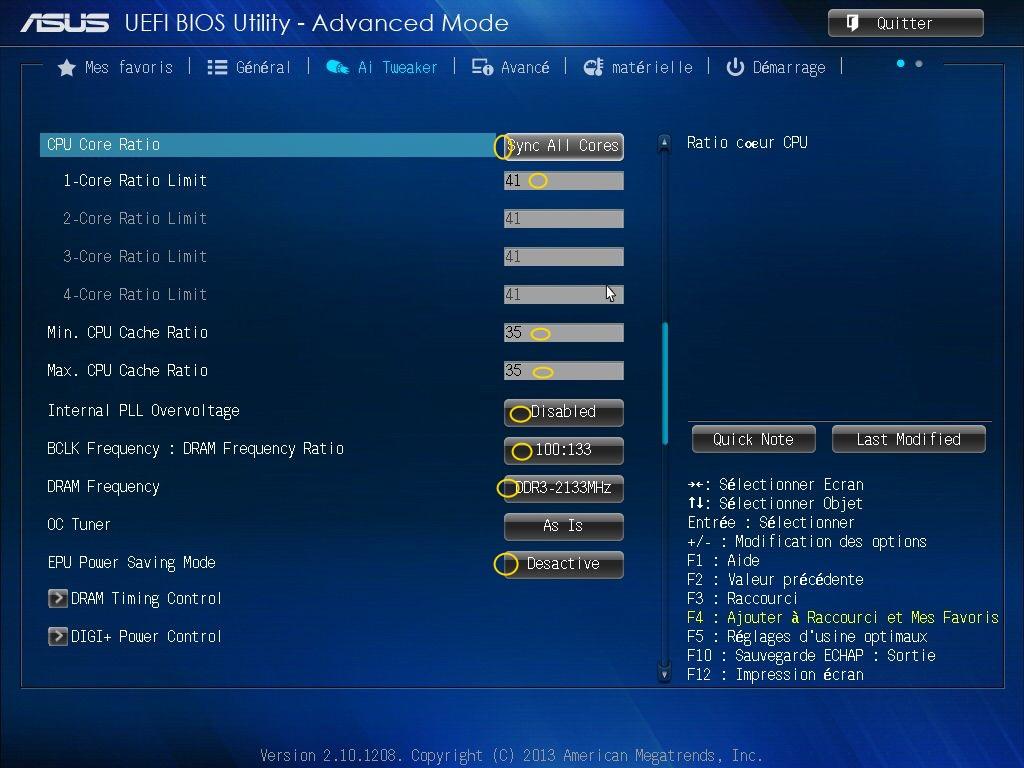 [DOSSIER] Screens BIOS Asus Z87-PLUS C2 04a