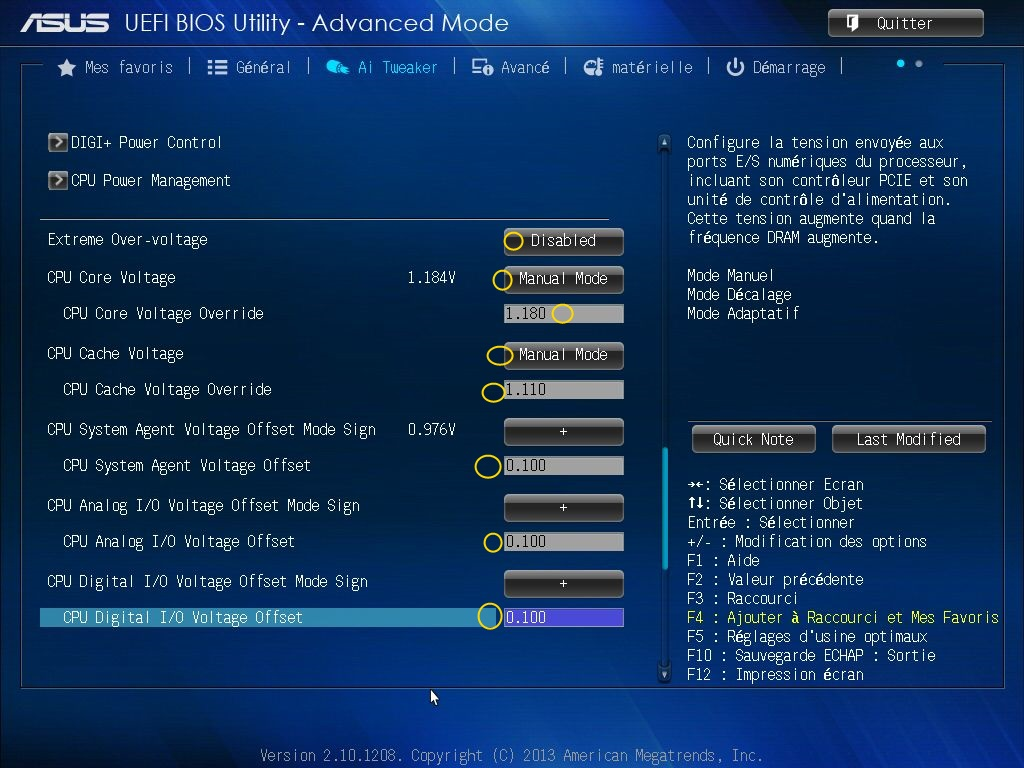 [DOSSIER] Screens BIOS Asus Z87-PLUS C2 05a