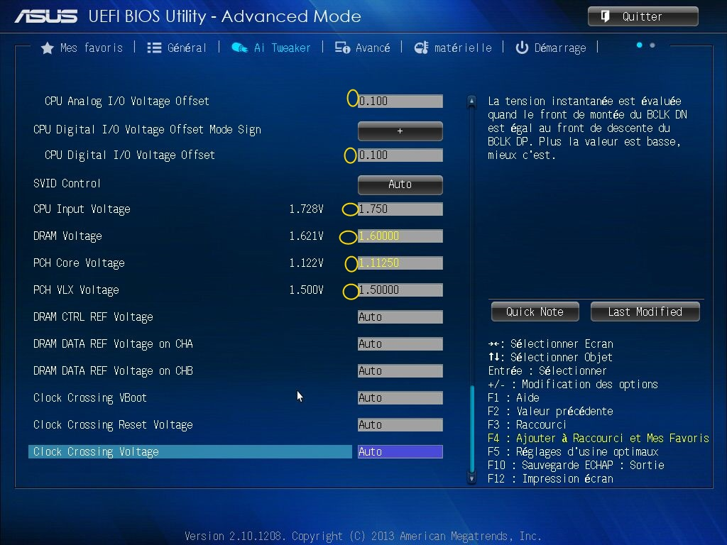 [DOSSIER] Screens BIOS Asus Z87-PLUS C2 06a