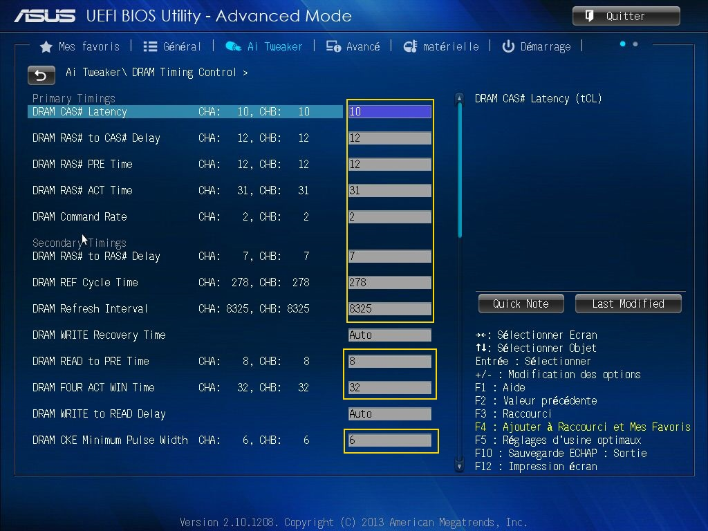 [DOSSIER] Screens BIOS Asus Z87-PLUS C2 07a