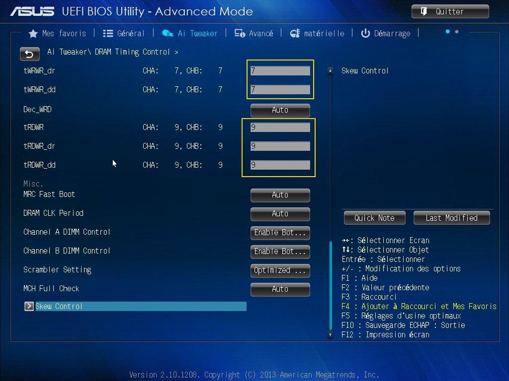 [DOSSIER] Screens BIOS Asus Z87-PLUS C2 09a