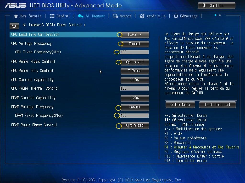 [DOSSIER] Screens BIOS Asus Z87-PLUS C2 10a