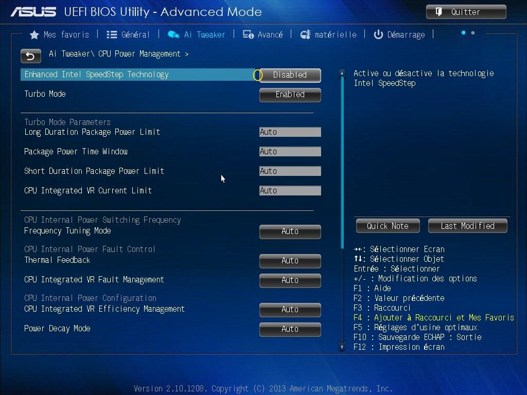 [DOSSIER] Screens BIOS Asus Z87-PLUS C2 11a