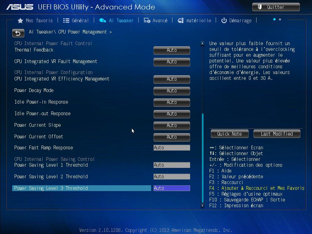 [DOSSIER] Screens BIOS Asus Z87-PLUS C2 12