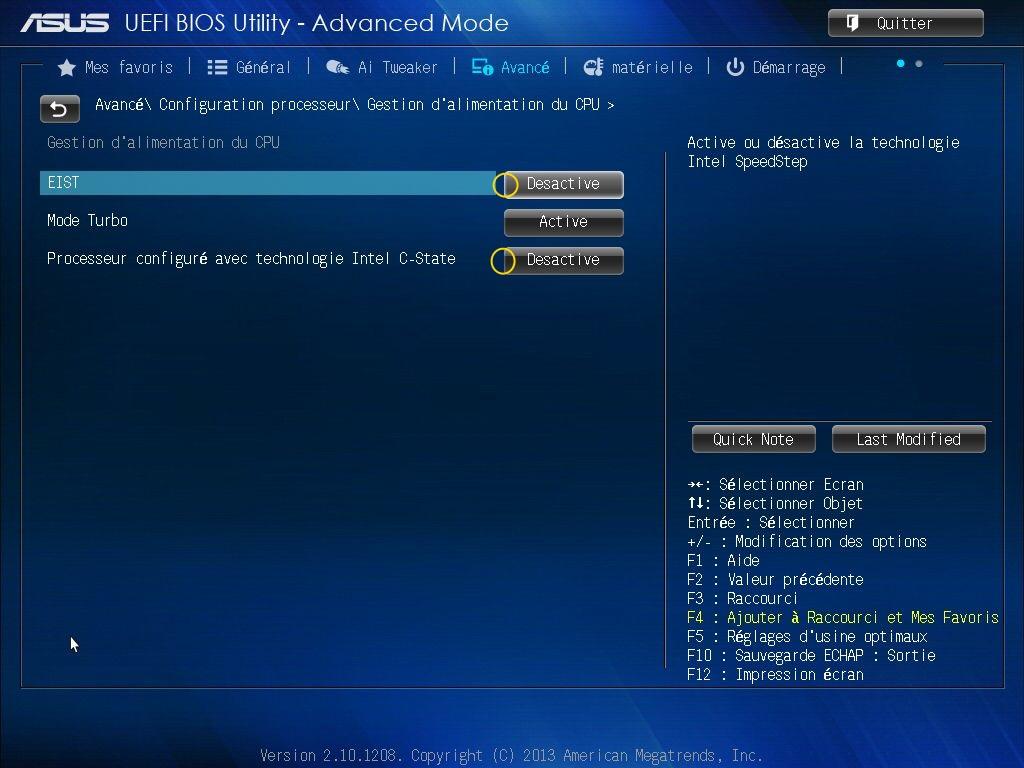 [DOSSIER] Screens BIOS Asus Z87-PLUS C2 14a