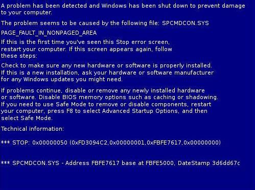 [DOSSIER] Overclocking d'un Intel core i5 4670K - 3° partie Bsod
