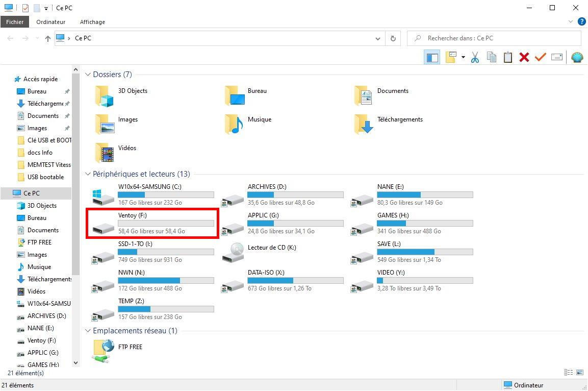 [DOSSIER] Créer simplement et rapidement une clé USB multiboot 11-cle-usb-apres