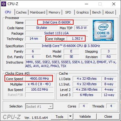 [DOSSIER] Tests CPU et classement CPU-Z