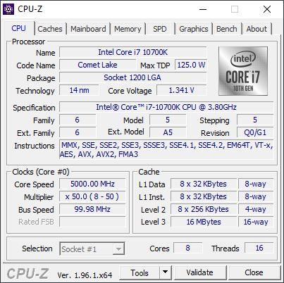 Intel Core i7 10700k vs Intel Core i5 6600k CPU-Z%20i7%2010700k%205%20GHz%208%2B8