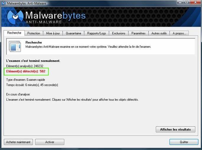 [DOSSIER]Protocole de nettoyage des indésirables (Spywares, Malwares, publicités intempestives...) Malware%20582