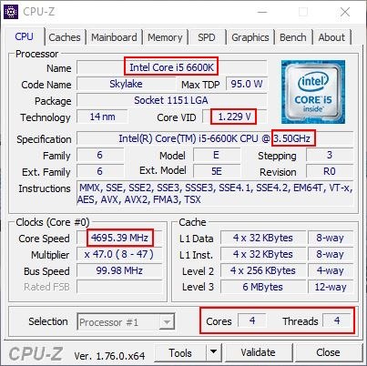 """Mon PC"" 2019 Cpu-z-6600k"