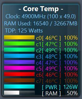 "[DOSSIER] Overclocking Intel Core i7 10700K ""Overclocking manuel sur les 8 cœurs""  Power-occt"