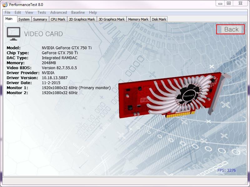 Puissance globale d'un PC Passmark4