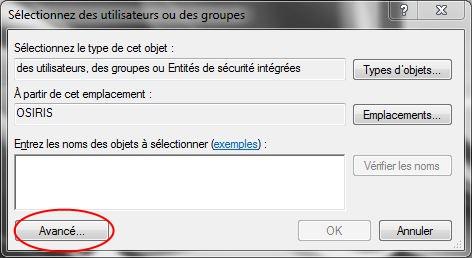 Partager dossiers ou partitions avec Windows 7 Droits09