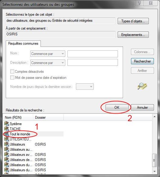 Partager dossiers ou partitions avec Windows 7 Droits11