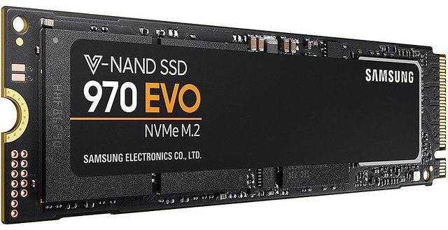 [DOSSIER] Disque SSD, PCI-E NVMe : performances augmentées et baisse de prix Samsung%20Serie%20970%20EVO%20NVMe%20M.2%20-%20250%20Go