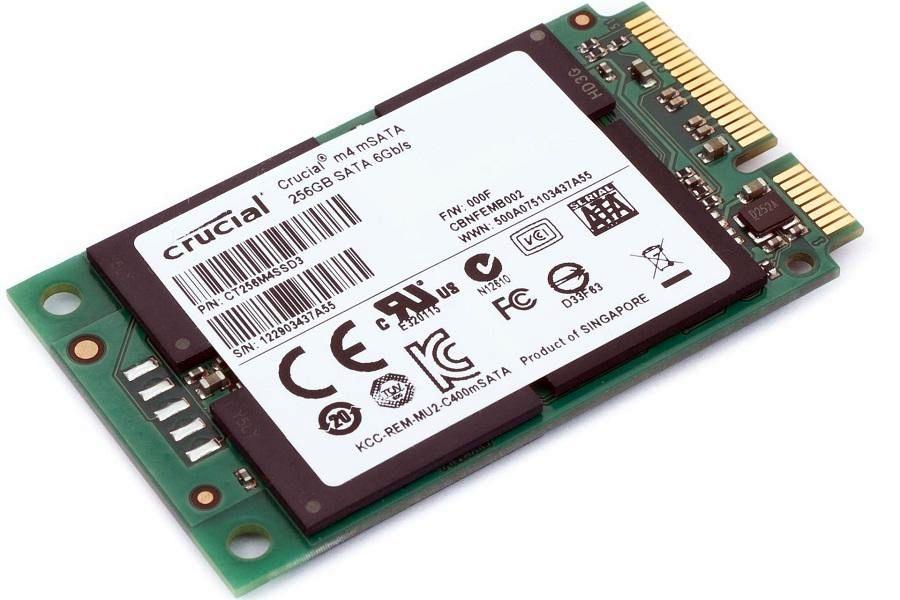 [DOSSIER] Présentation d'une carte SSD au format mSATA Crucial-m4-msata-256-go-1