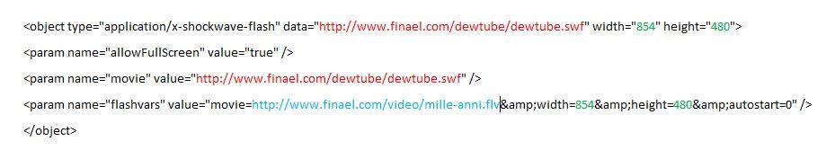 Intégrer une vidéo dans un forum Codes-video