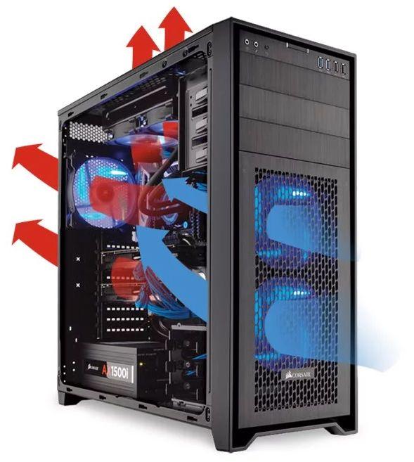 [DOSSIER] Position du radiateur de watercooling dans le boîtier ? Flux%20Air%20PC