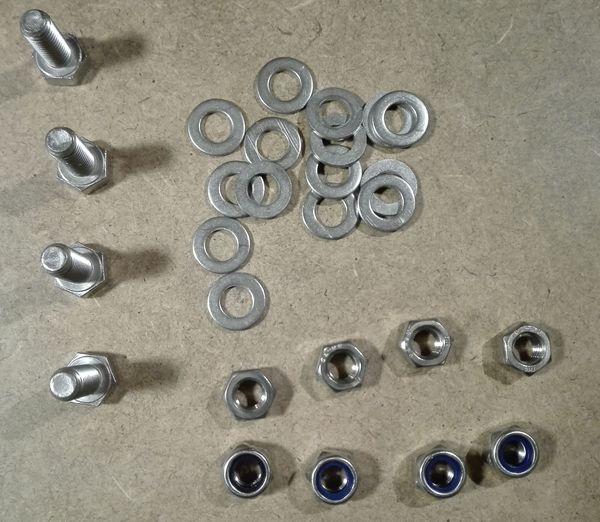 5 - Préparation avant montage Ecrous-vis-rondelles-8-inox-a