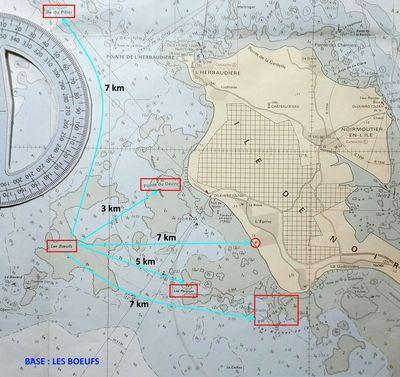 Distances entre les spots Spots-3-boeufs-a