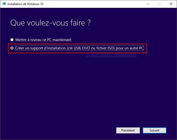 WINDOWS 10 1709 (installer, télécharger l'ISO et créer une clé ou DVD) Creator-1a