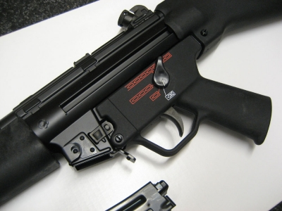 Armes d'Infanterie chez les FAR / Moroccan Small Arms Inventory - Page 7 PTW-MP5A4a