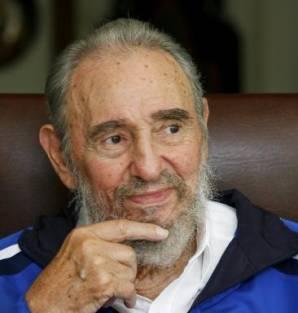 Fidel Castro was blood type A negative Fidel-castro