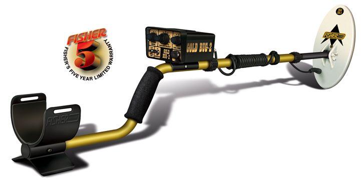 Fisher Gold Bug 2 Gold Nugget GoldBug2-large-popUp