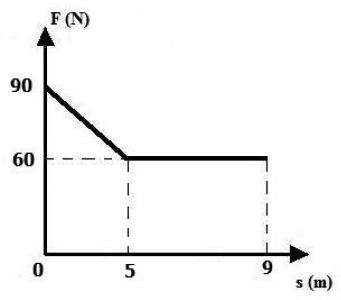 Questão Física, trabalho no gráfico. Upe2010q20fase1
