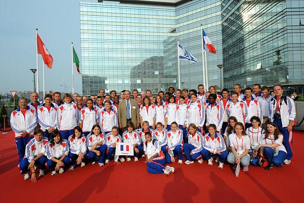 Universiade 2009 : Belgrade FLAG_RAISING_CEREMONY_059