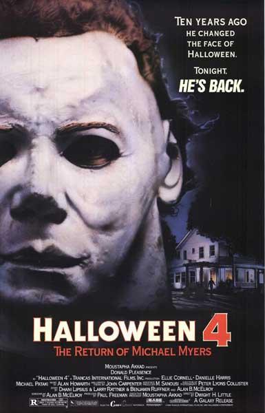 تحميل سلسلة الرعب هالوين كاملة برابط واحد فقط Halloween Halloween4