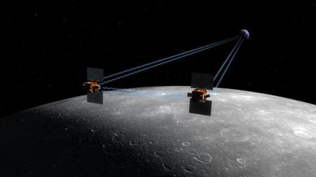 Grail : une mission pour étudier le champ de gravité lunaire Grail
