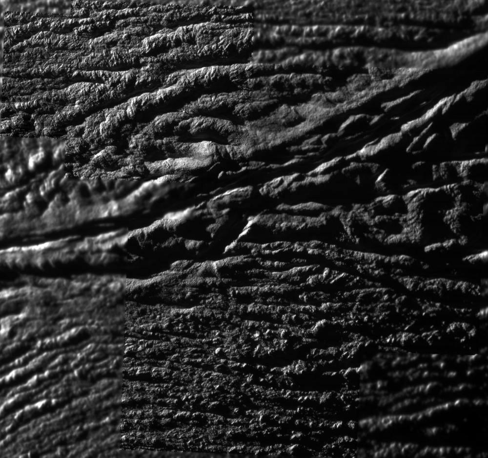Les régions des sources de jets d'Encelade Jets1g