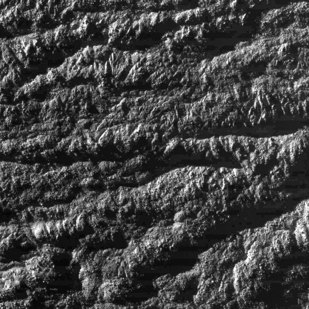 Les régions des sources de jets d'Encelade Jets4g