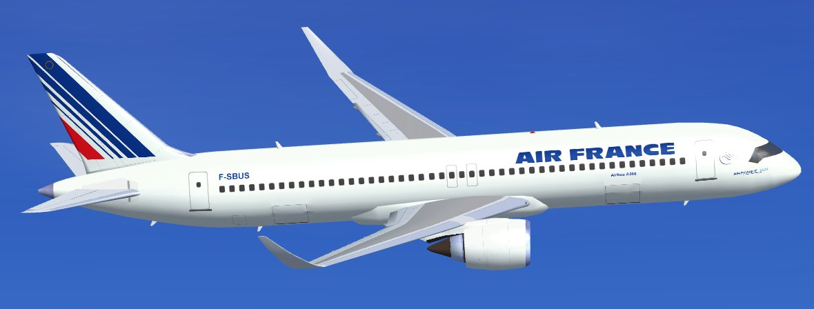 Bon Jeudi FS2004-Air-France-Airbus-A360