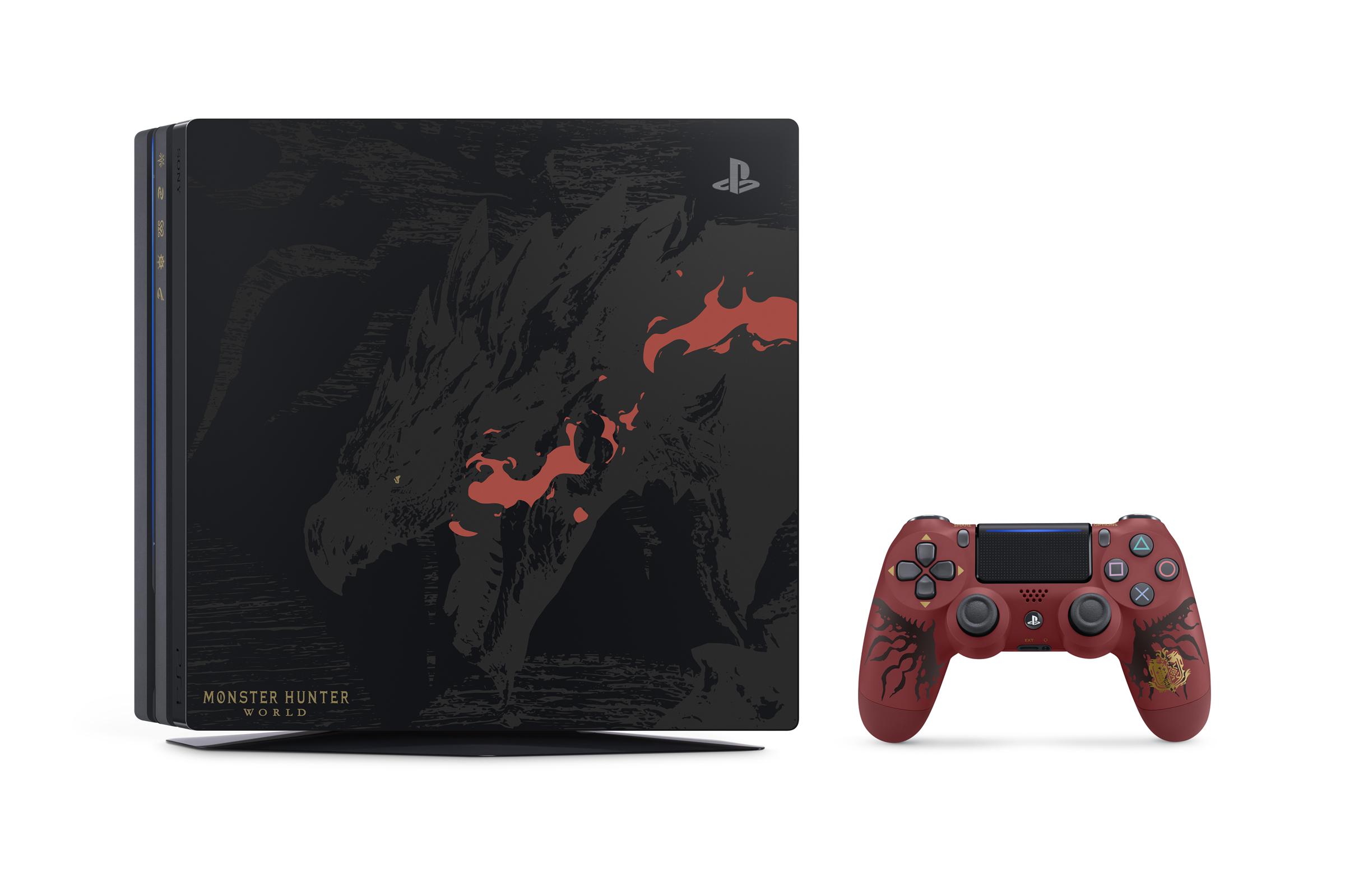PS4 Pro Monster Hunter World PS4_MONSTERHUNTERWORLD_02