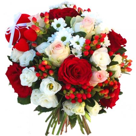 Lundi 8 mai  Zoombouquet-saint-valentin-rose-fleur-santini-eustoma-hypericum-coeur-rouge-rose-blanc_ingenu