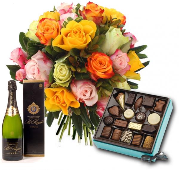 Discussion sur l' Etoile de TF1 du 25 février 2017 - Page 3 Zoomfleurs-chocolats-champagne-bouquet-de-roses
