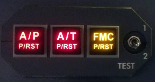 Anunciadores LEDs AFDS_Panel_Test2