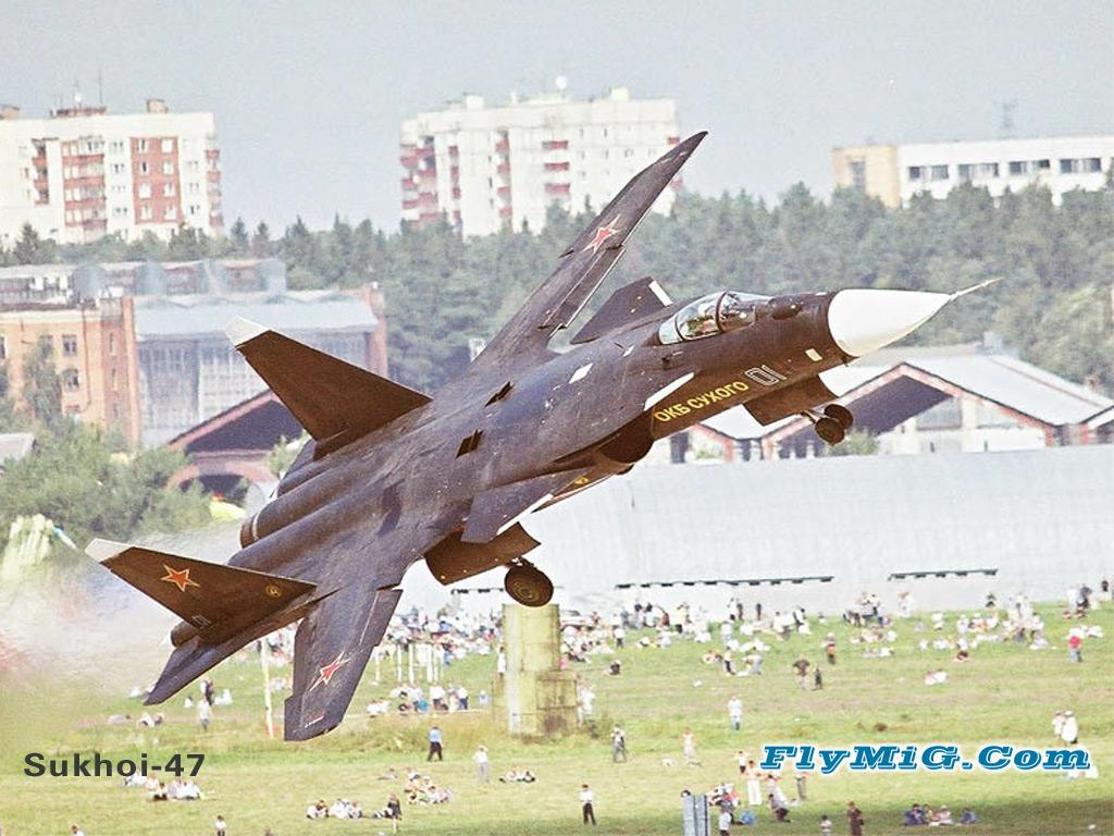 Sukhoi S-37/SU-47 Berkut Su-47