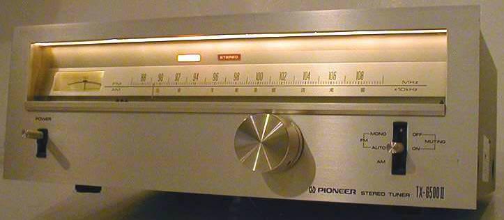 FM. Formas de acceso para la escucha. TX-6500II