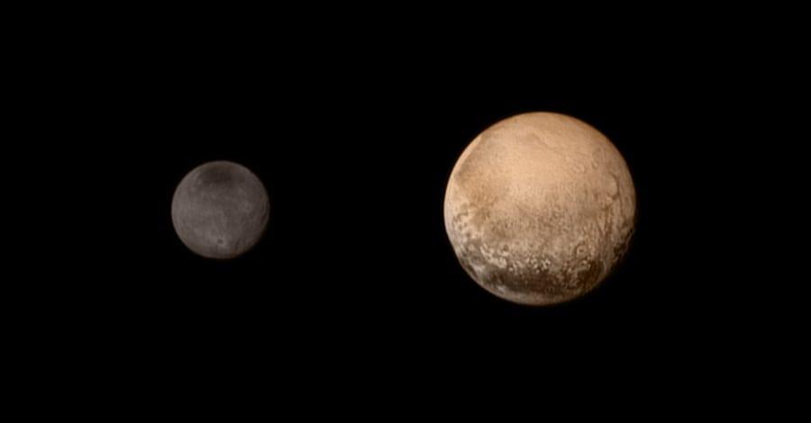 Sistema solare : i pianeti Nh-color-pluto-charon.900x600