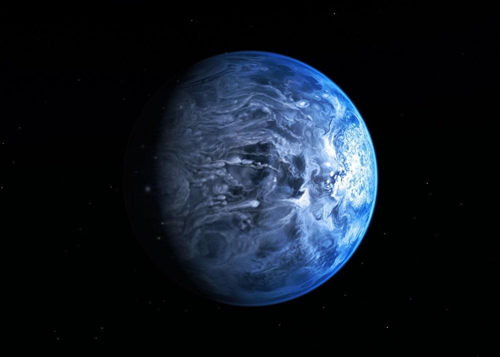 Stelle Galassie Nebulose Buchi neri - Pagina 5 Hd_189733_b_deep_blue_dot