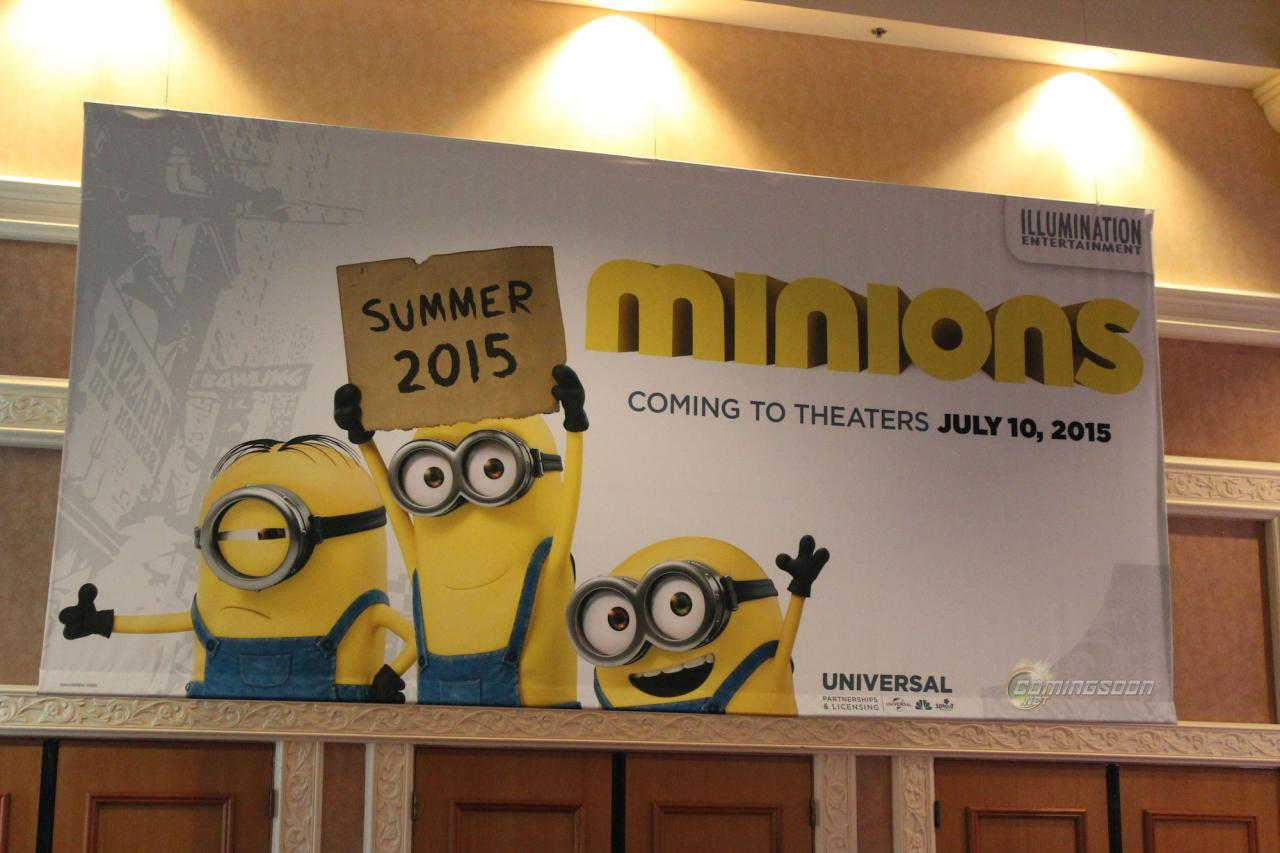 [Universal • Illumination] Minions (2014-2015)   Licensing-expo-minions
