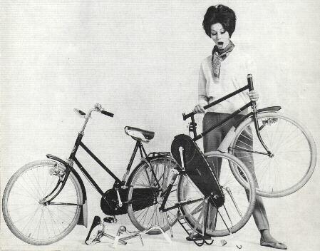 kwickstepper d'Allemagne Gazelle-Kwikstep-folding-bike-ad