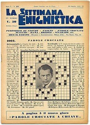 il senso di questo spazio per gli sfoghi. La-Settimana-Enigmistica-Ottobre-1932