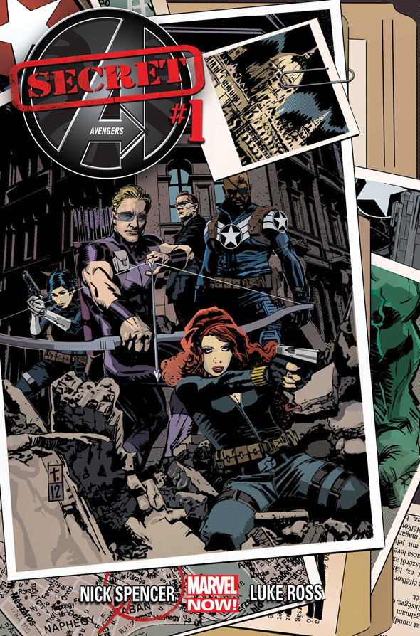 Marvel képregények  Secret-Avengers-1-1