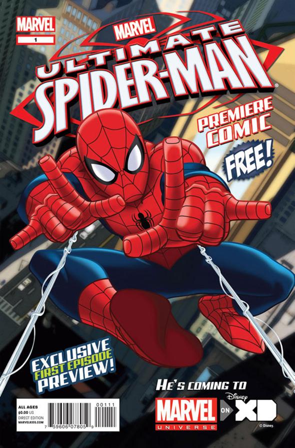 Spajdermen UltimateSpiderMan_PremiereComic_cover