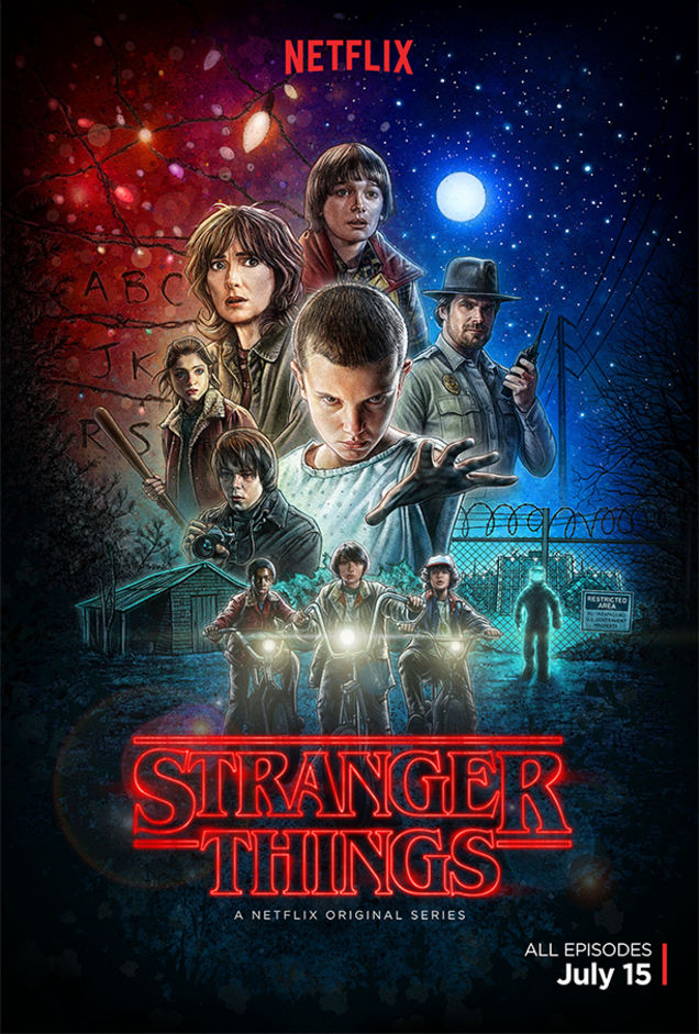 Séries Télé US - Page 7 Stranger-things-poster